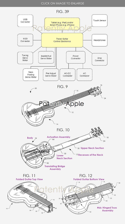 2 folding guitar using iOS