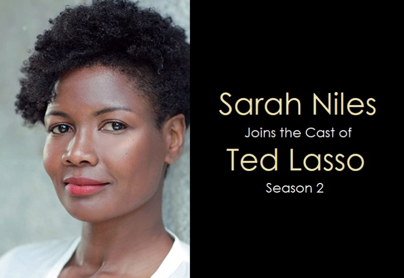 1 x cover Sarah Niles joins Ted Lasso season 2