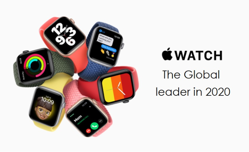 1 cover Apple Watch  Global leader