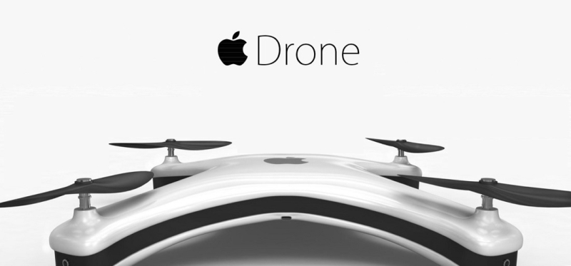 1 cover Apple drone
