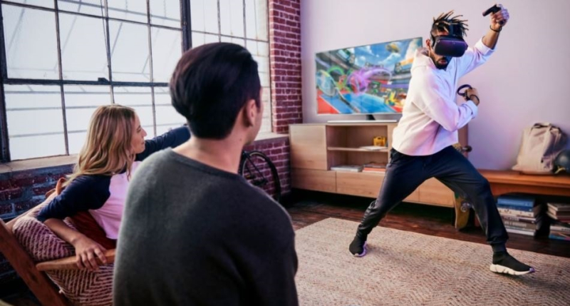 1 cover vr immersion in living room could get tricky