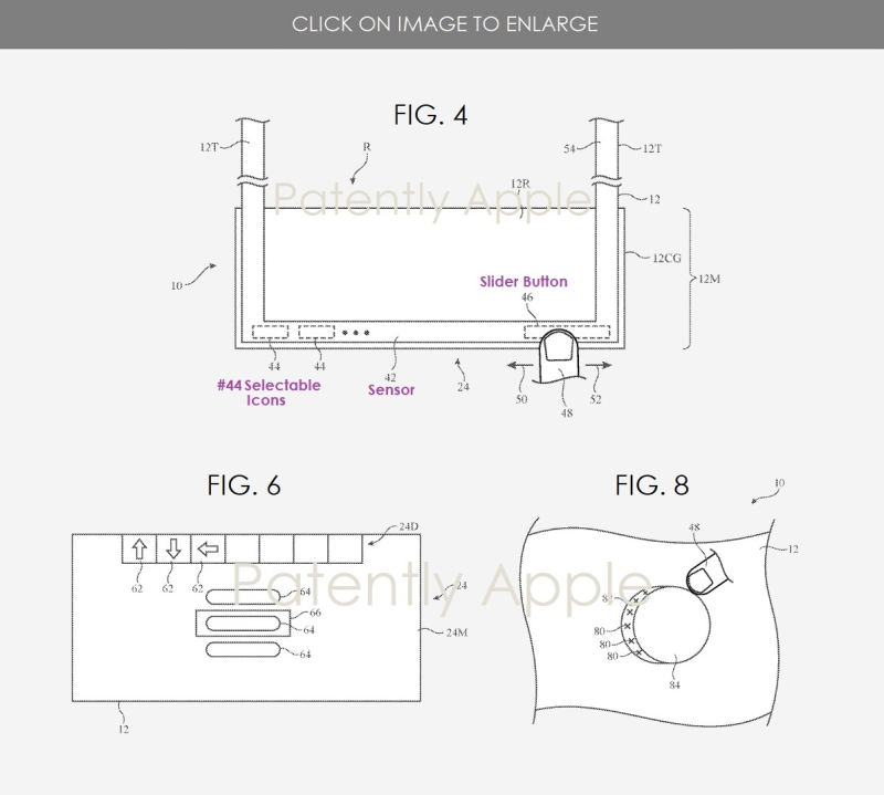 3 hmd controls touch areas