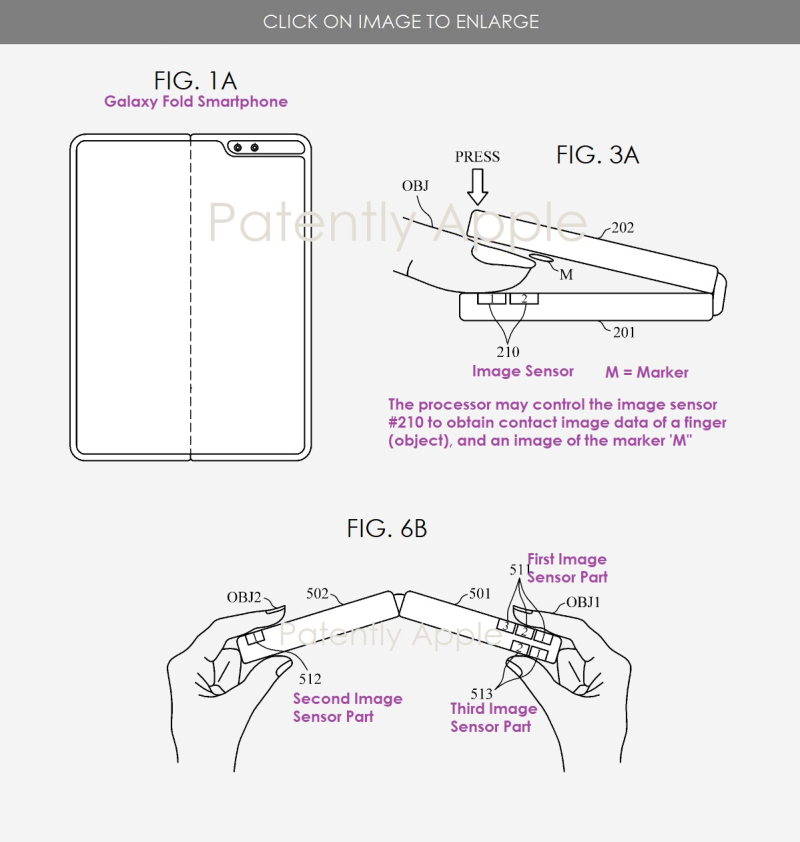 2 X SAMSUNG GALAXY FOLD FUTURE BIOMETRIC FEATURE FOR BLOOD PRESSURE +  PATENTLY APPLE REPORT