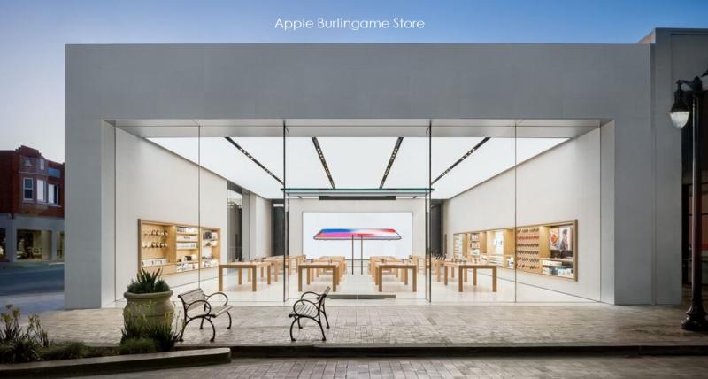 5 X Burlingame Apple Store California