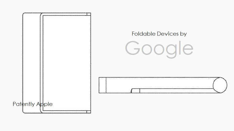 1 cover Google foldable devices patent