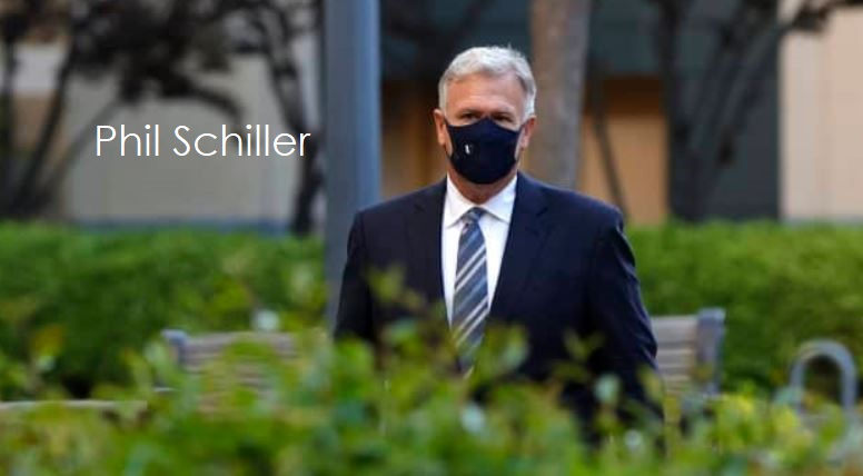 3 Phil Schiller going in to testify today