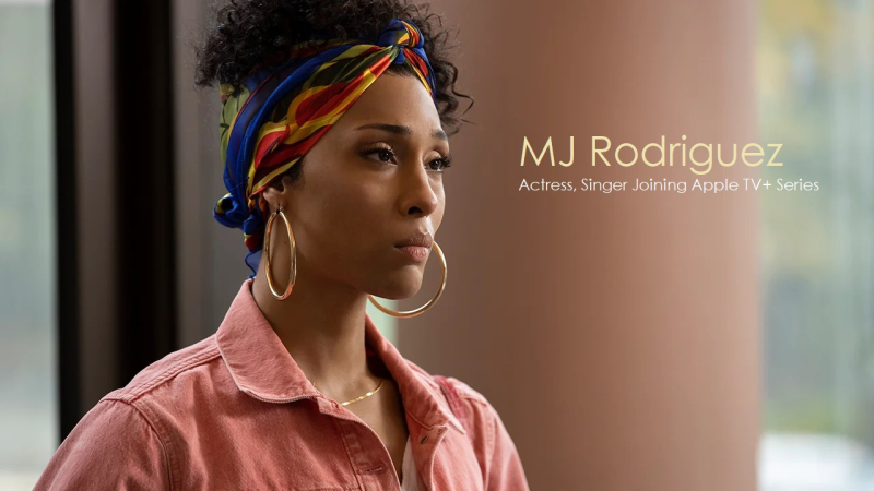 1 Cover - MJ Rodriguez - joins Apple TV+ series