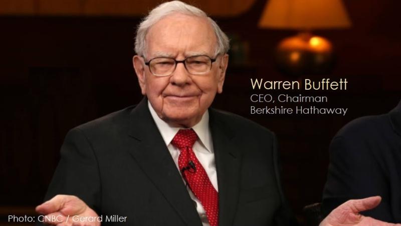 1 x cover Warren Buffet Burkshire Hathaway