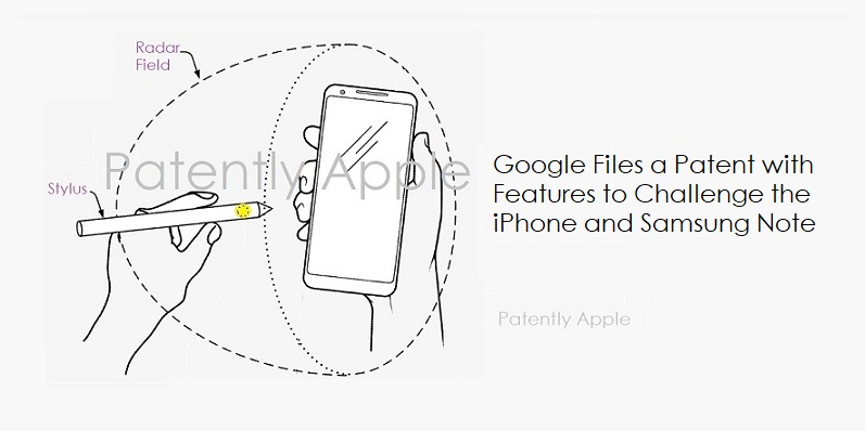 1 revised - Cover -   Google files for a Samsung Note-Like smartphone