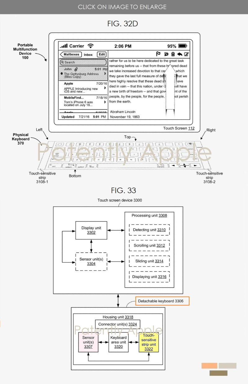 3 iPad Pro possible alternative  future keyboard