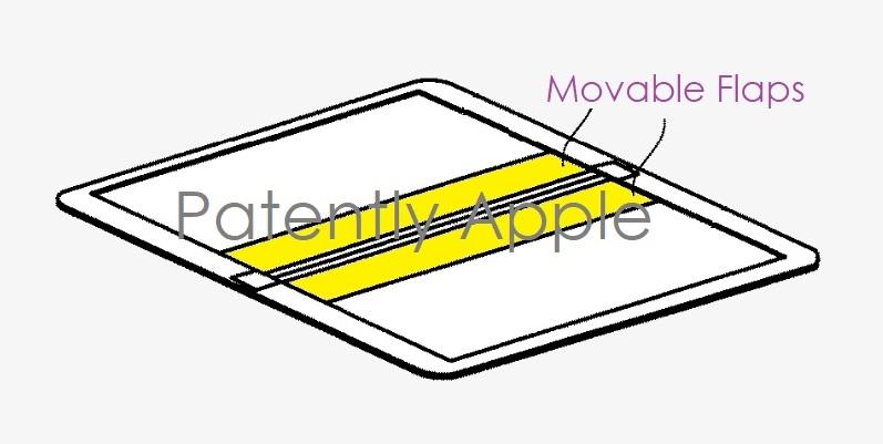 1 x folding device patent apple