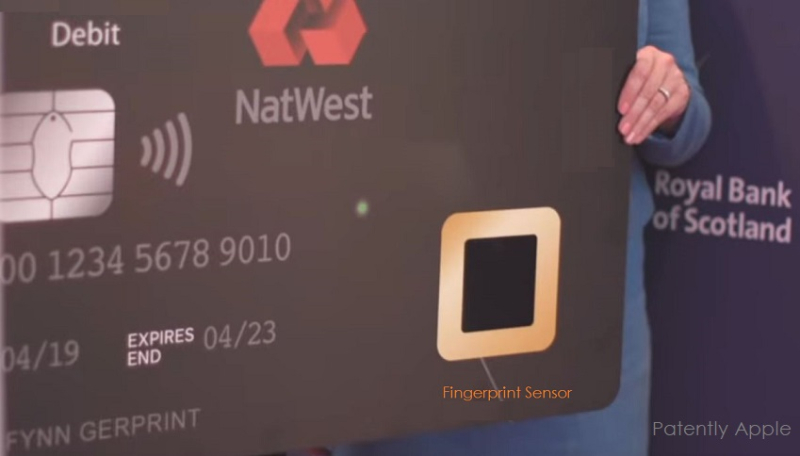 1 X cover fingerprint payment card security