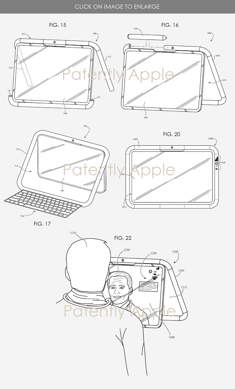 2 apple 2nd granted patent for new iPad  accessories