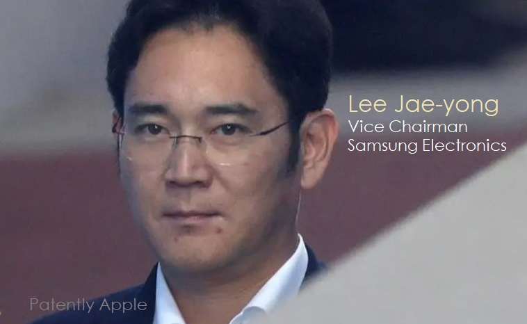 1 x cover Samsung Lee Jae-yong