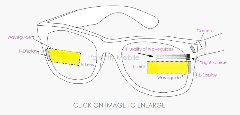 1 xFINAL - Cover - Facebook Smartglasses patent image