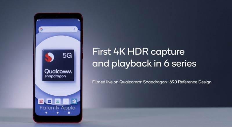 1 x Qualcomm Snapdragon 690