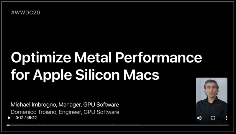 8. Optimize Metal Performance for Apple Silicon Macs