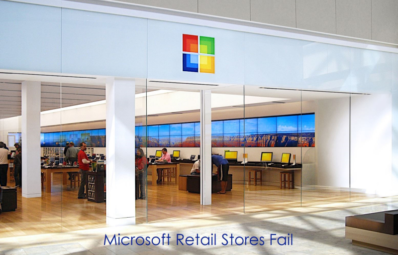 1 x Microsoft store in US mall 2009