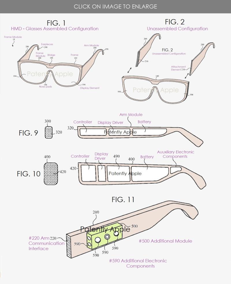 2 New combination image -  apple modular glasses