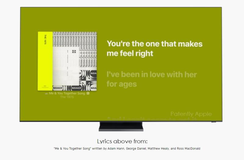 4 Apple Music Lyrics on Samsung Smart TVs