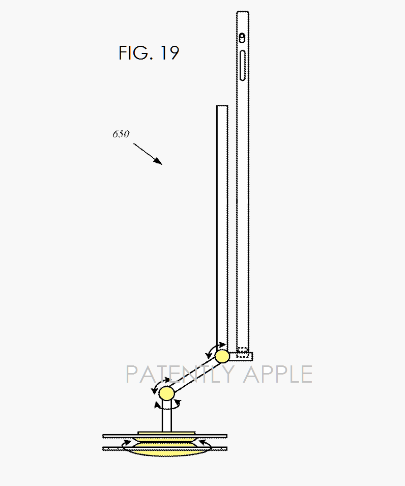 2 -  PIVOTING STAND AND DOCKING STATION