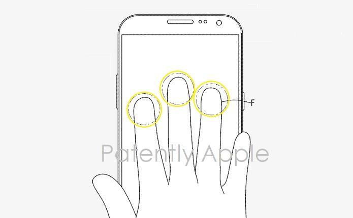 1 Cover 3-fingerprint ID  Samsung Patent