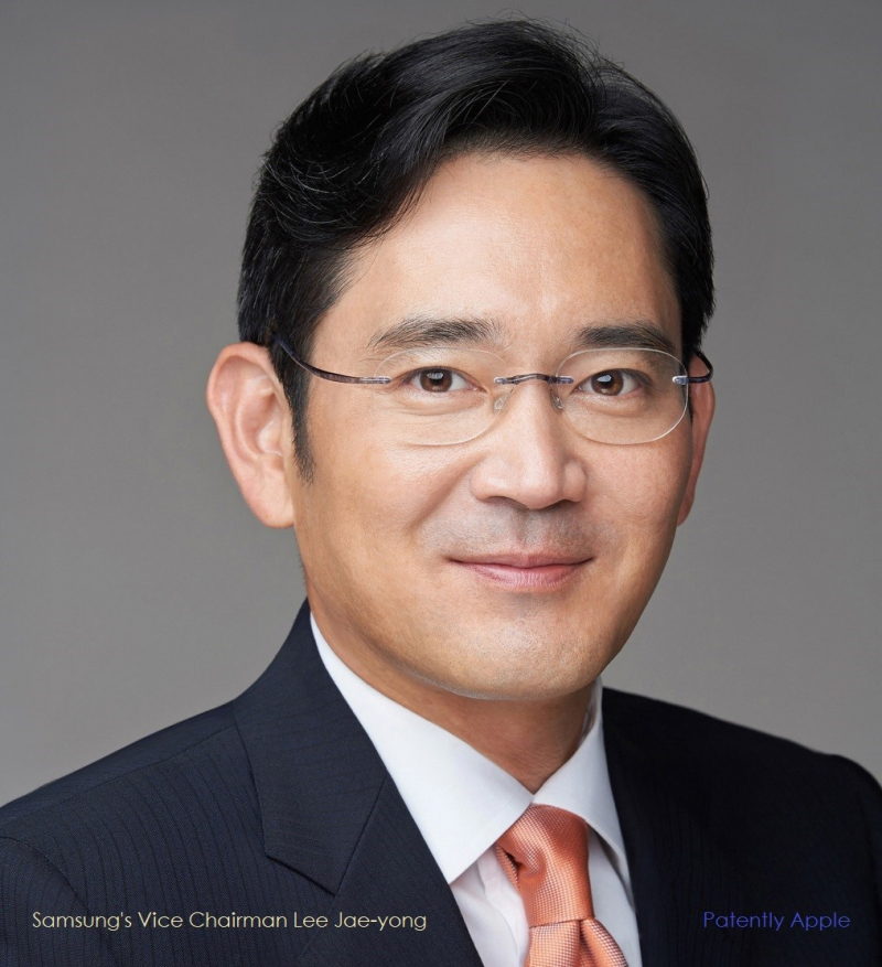 4 x  cover Samsung's Vice Chairman Lee Jae-yong  who wrote a white paper on 6G