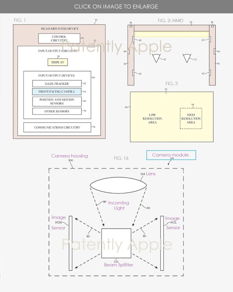 2 XX2 Apple HMD - camera system patent figs