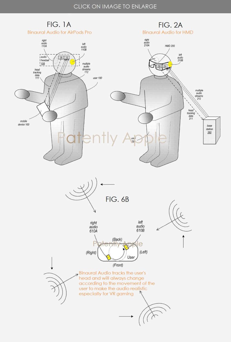 2 binaural audio for AirPods and future HMD