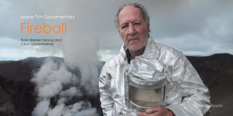 1 x cover Fireball documentary for Apple TV+