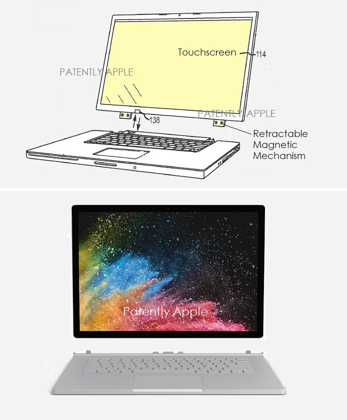 2 X apple hybrid notebook v surface book
