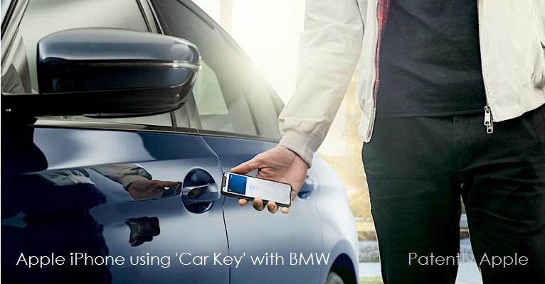 1 x cover CarKey Apple - BMW
