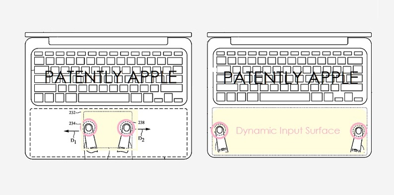 1 x cover expandable  moveable trackpad