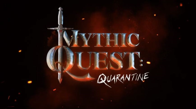 1 cOVER Mythic Quest - Special Quarantine episode
