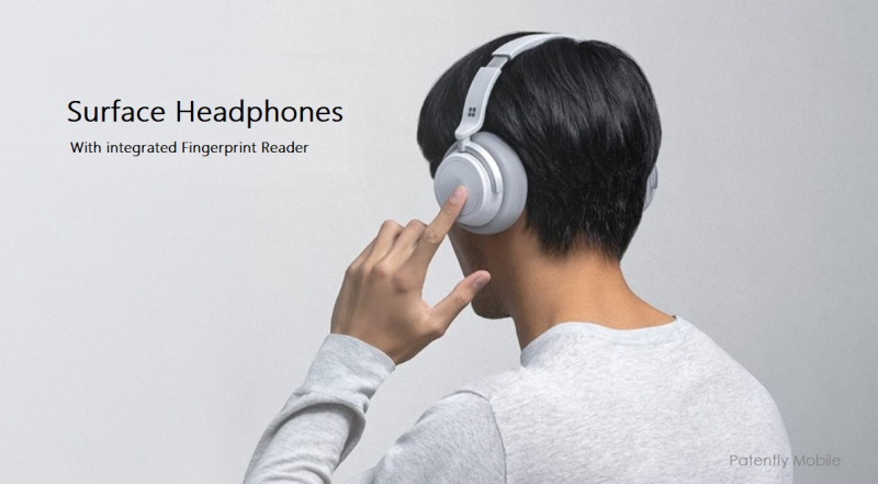 1 x Cover Microsoft Surface Headphones with built in fingerprint reader