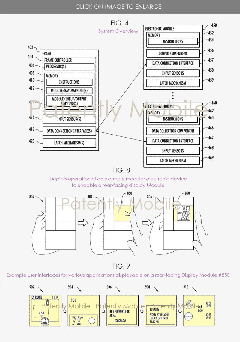 3 Google's modular device sysfem patent update
