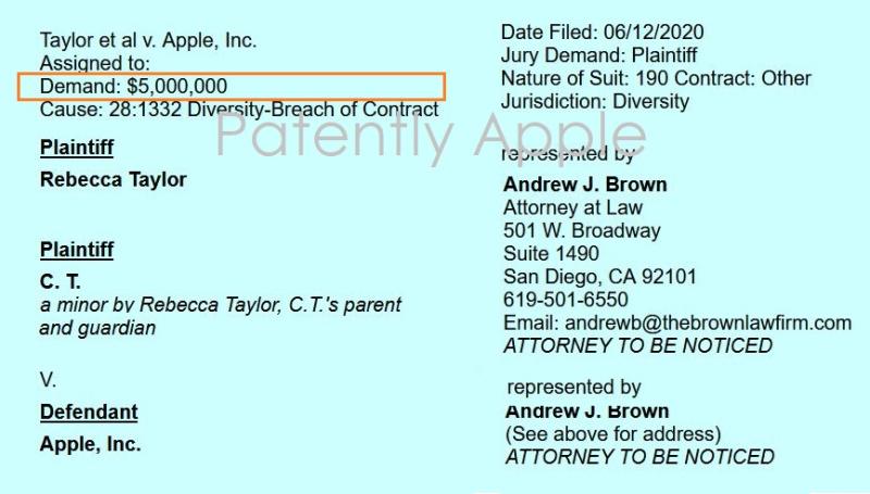 2 Court Docket reveal $5 million lawsuit