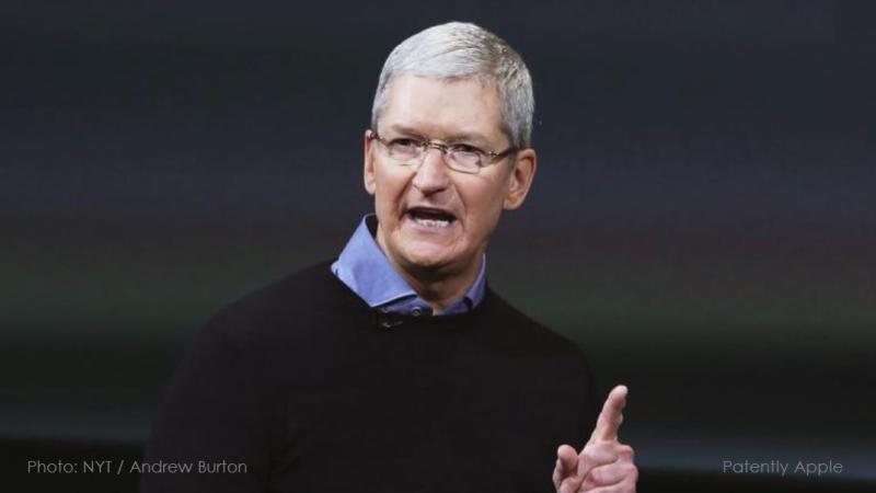 1 X Tim Cook  Apple CEO