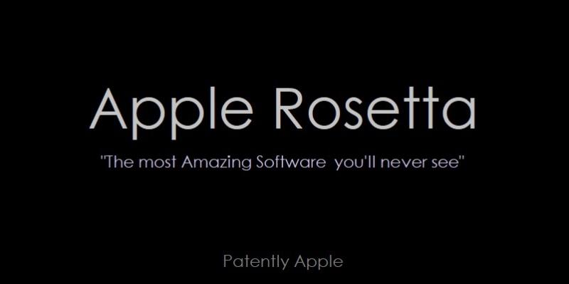 1 x Cover - Apple Rosetta