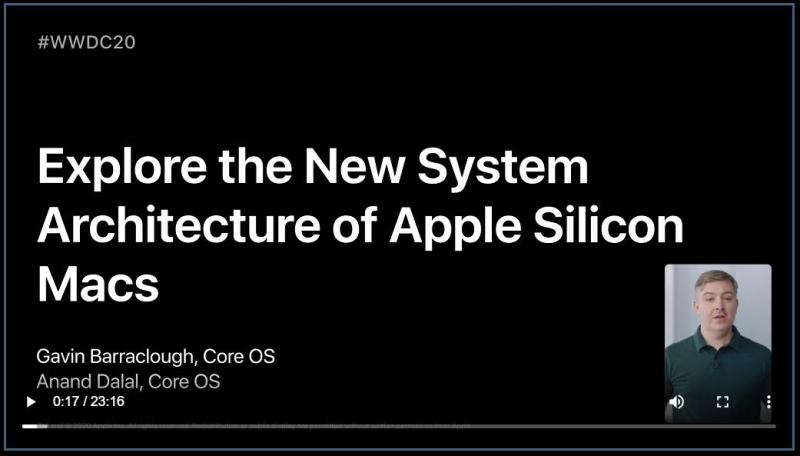 4. Explaore the new System Architecture of Apple Silicon Macs