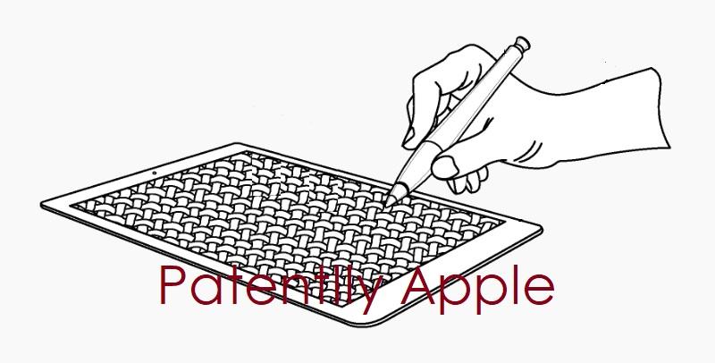 1 x cover iPad  apple pencil - textures