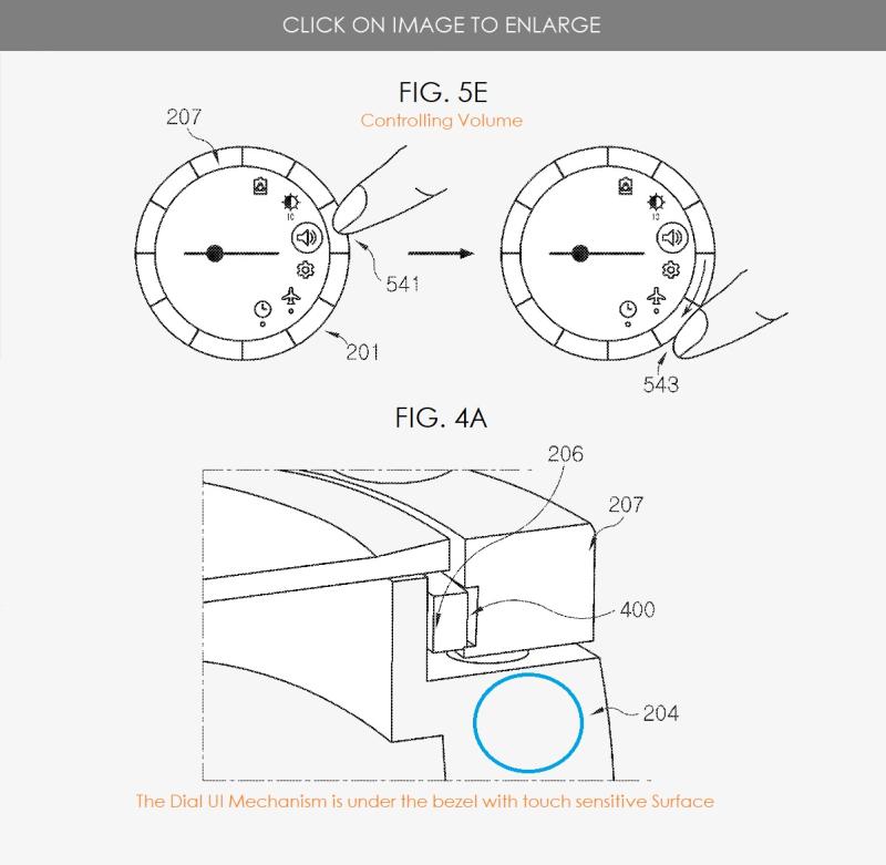 2 Samsung smart glasses patent figures 7  8 & 5A Q3 2020