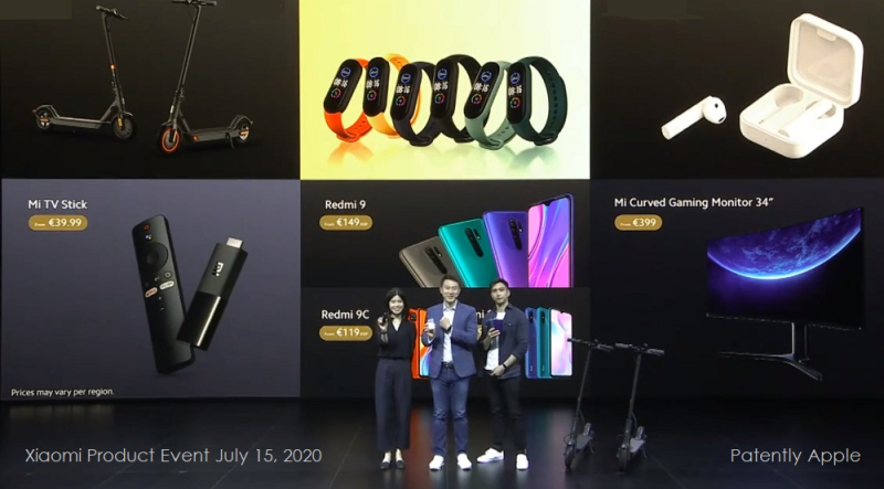 1 x - Cover Xiaomi event July 15  2020