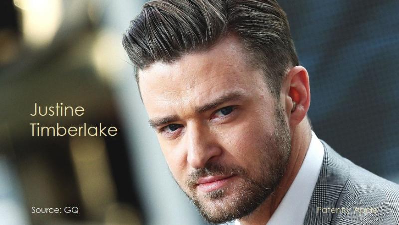 1 x cover Justin Timberlake