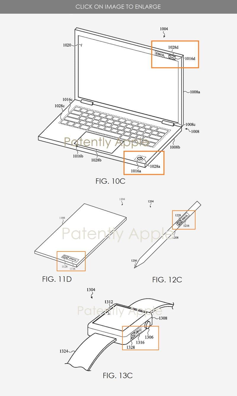 2 Apple granted patent figures