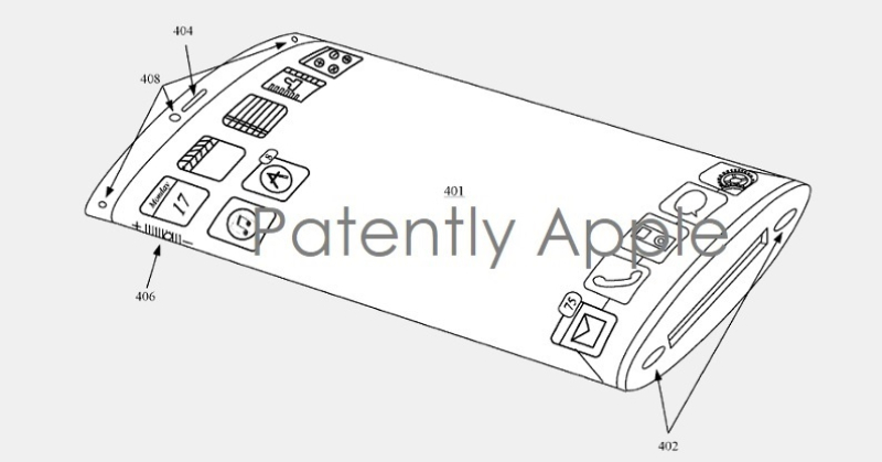 3 apple concave glass patent