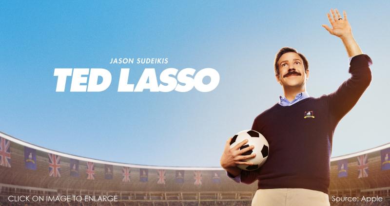 1 x cover - Ted Lasso Season 2