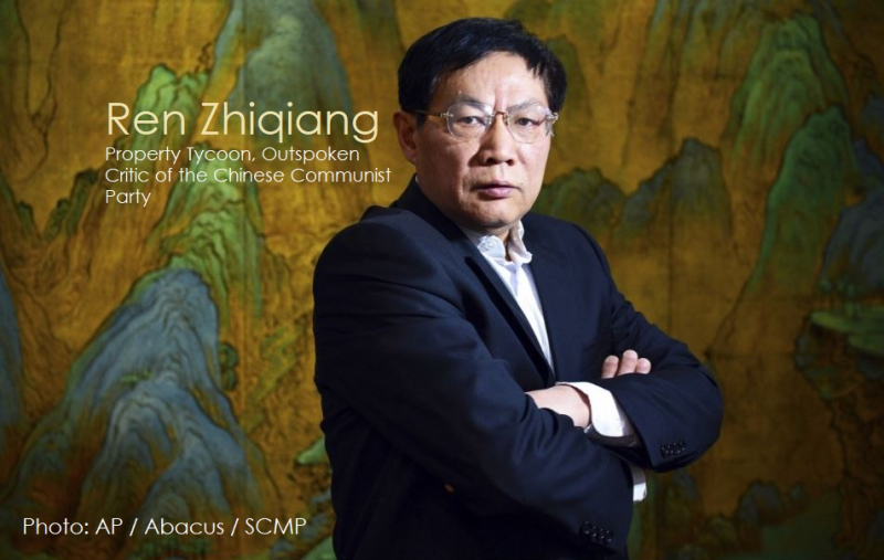 1 Cover Final Ren Zhiqiang missing after criticizing the government