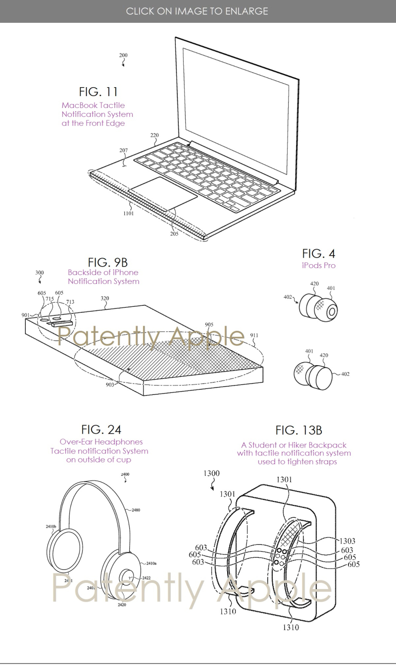 2 Apple patent for tactile notification system