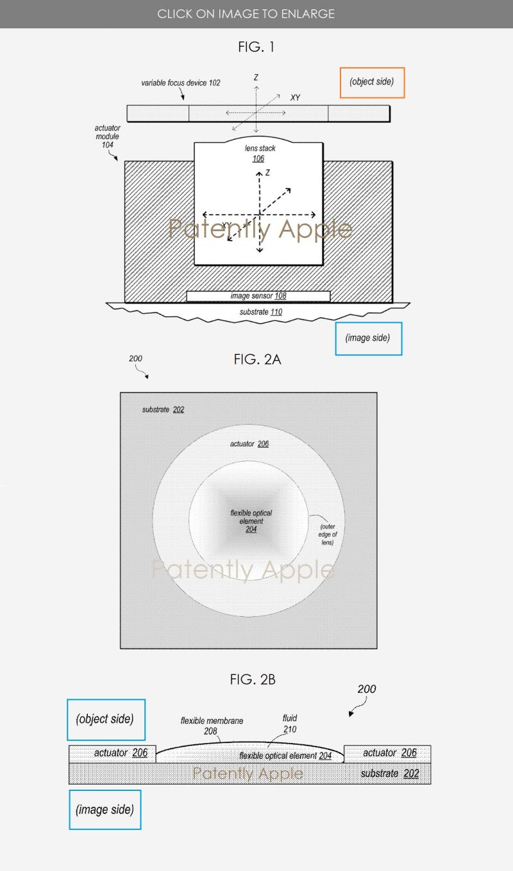 4 apple camera granted patent figs 1  2a  2b